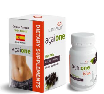 AçaiOne Plus 45 capsules Made in Spain